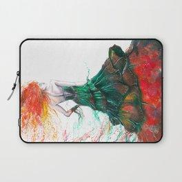 Lady Fire  Laptop Sleeve