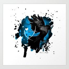 The Raven Cycle / Boys - Bookish art Art Print