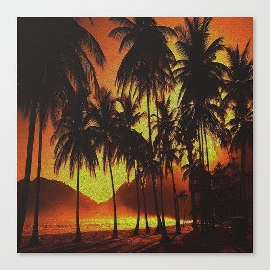 Tropical Beauty Canvas Print