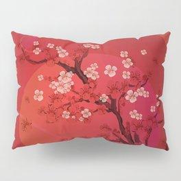 Kirschblütenzweig Pillow Sham