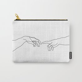 Creation of Adam Minimal Drawing Carry-All Pouch