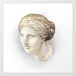 Aphrodite of Cnidus Art Print