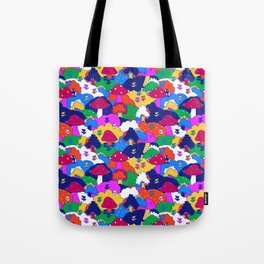 Trippy Hippie Hills Tote Bag