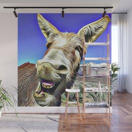 Laughing Jackass Wall Mural
