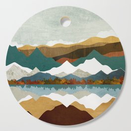 Winter Lake Cutting Board