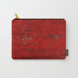 V17 Red Traditional Moroccan Carpet Texture. Carry-All Pouch