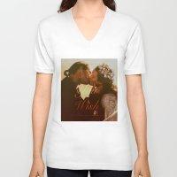 "princess bride V-neck T-shirts featuring As You Wish (""The Princess Bride"" 1987) by Woah Jonny"