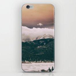 peach cobbler iPhone Skin