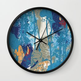 Flowers 01 Wall Clock