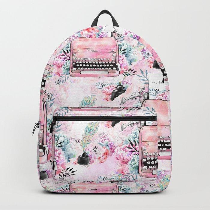 Typewriter #9 Backpack