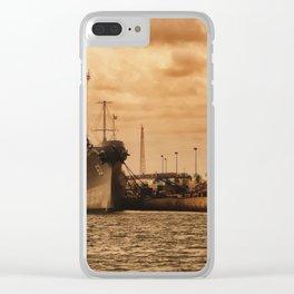 Battleship USS Missouri Clear iPhone Case
