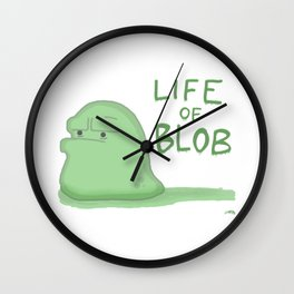Life of Blob Wall Clock