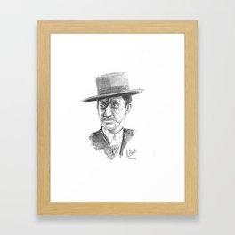 Manolete Bujalance Framed Art Print