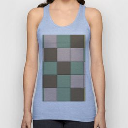 Color Square Abstraction Unisex Tank Top