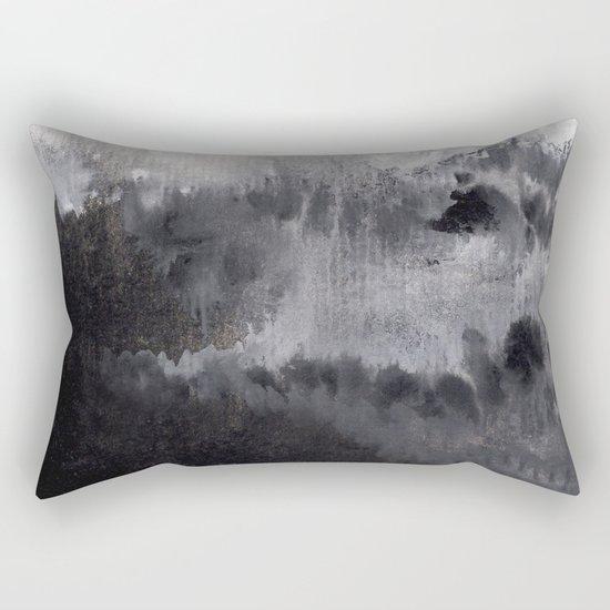Watercolor abstract landscape 16 Rectangular Pillow