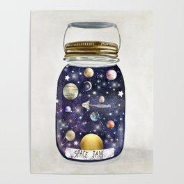space jam jar Poster