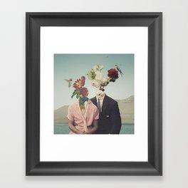 Somewhere Else Framed Art Print