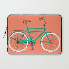 Brooklyn Cruiser - Bike print illustration Laptop Sleeve