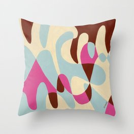 Neopolitan and Ice Throw Pillow
