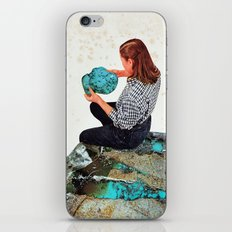TURQUOISE iPhone & iPod Skin