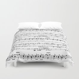 Musical Duvet Cover