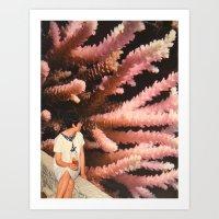 aquarius Art Prints featuring Aquarius by Djuno Tomsni