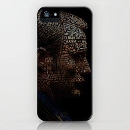 Hannibal Typography iPhone Case