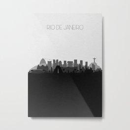 City Skylines: Rio de Janeiro Metal Print