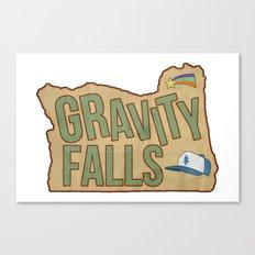 Gravity Falls  Canvas Print
