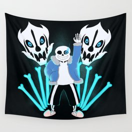 Sans the Skeleton Wall Tapestry