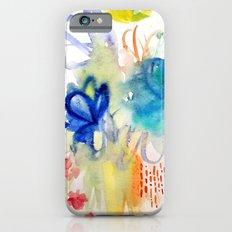 Fleurs Quilt Slim Case iPhone 6s