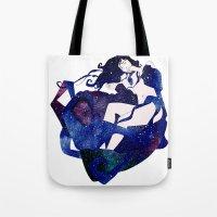 celestial Tote Bags featuring Celestial by Stevyn Llewellyn