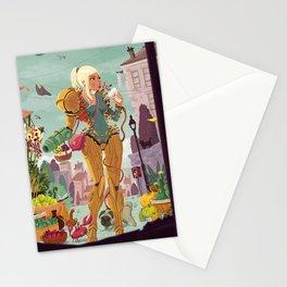 Samus Aran Stationery Cards
