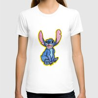 lilo and stitch T-shirts featuring Stitch by DROIDMONKEY