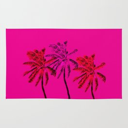 Neon Palms Rug