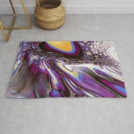 Purple Cyclone Rug