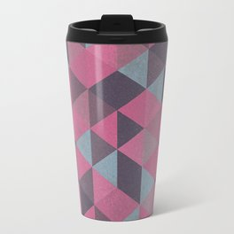 Abstract Triangles Travel Mug