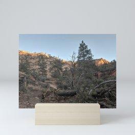 Mountains   Trees   Nature   Outdoors Mini Art Print