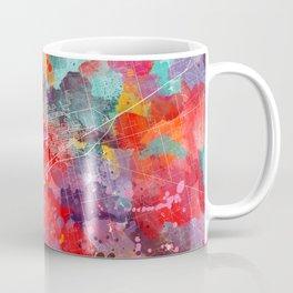 Midland map Texas painting 2 Coffee Mug