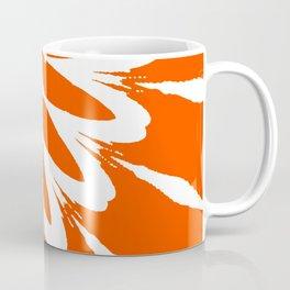 The Modern Flower Orange Coffee Mug