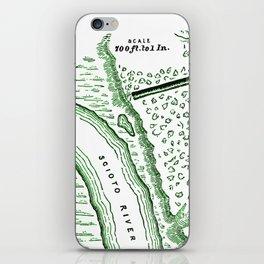 Earthworks at Cedar Bank iPhone Skin