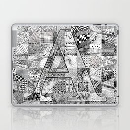 The Letter A Laptop & iPad Skin