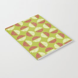 Modern Stripe Spots Notebook