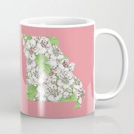 Missouri in Flowers Coffee Mug