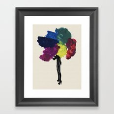 Paint Fetish Framed Art Print