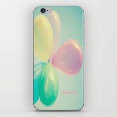 Balloon Love  iPhone & iPod Skin