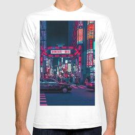 Cyberpunk Tokyo Street T-shirt