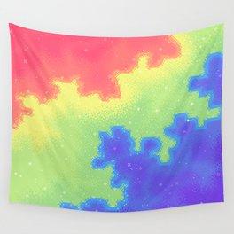 Rainbow Pride Flag Galaxy Wall Tapestry