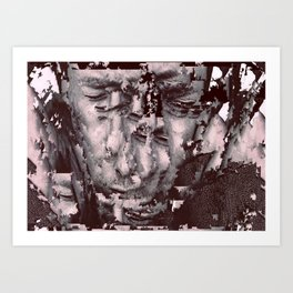 sliced Thom Art Print