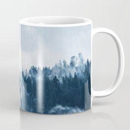 Cloudy and Foggy Forest Coffee Mug